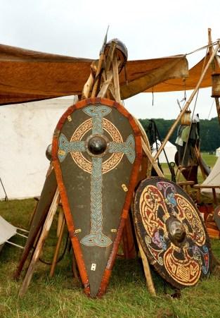 Part of the Viking encampment