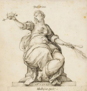 Hendrick Goltzius, Doctrina, Museum Boijmans van-Beuningen, Rotterdam