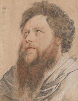 Hendrick Goltzius, Portrait of a Man, Museum Boijmans van-Beuningen, Rotterdam