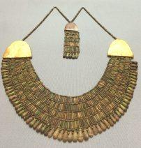 A 4,000 year-old Egyptian bead collar, Kunsthistorisches Museum, Vienna