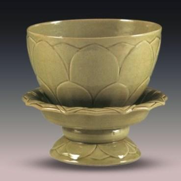 Lotus Bowl, 10th-century, Suzhou Museum