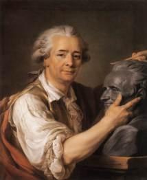 Adélaïde Labille-Guiard, Portrait of Augustin Pajou, 1783, Musée du Louvre