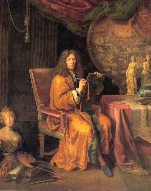 Pierre Mignard, Self Portrait, c.1690, Musée du Louvre