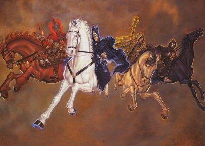 The Four Horsemen © Paul Kidby