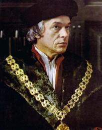 Paul Scofield as More in A Man For All Seasons