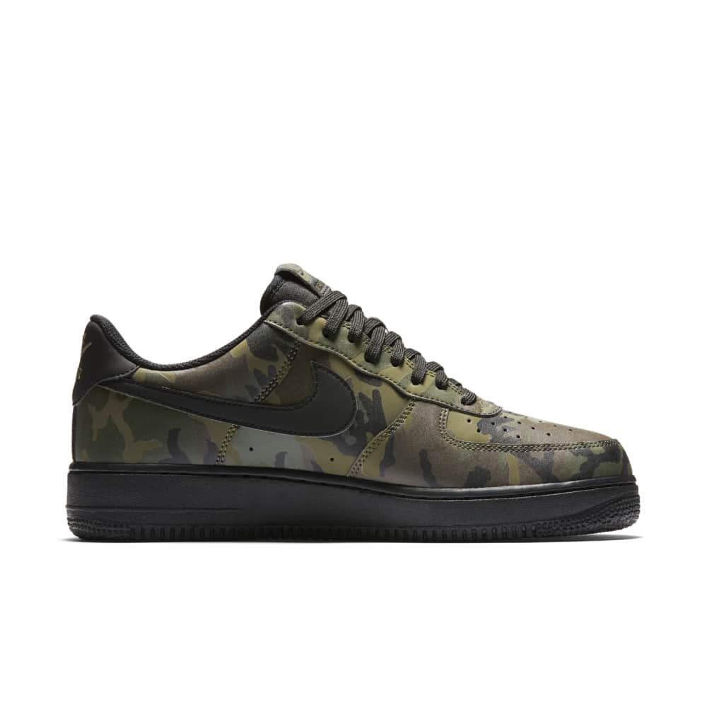 Nike Air Force 1 Low 07 Medium Olive Camo Reflective