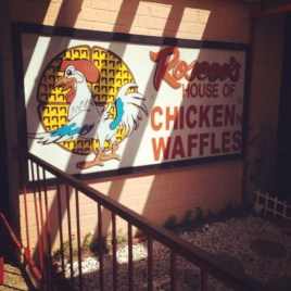 Day 1 my friend Kelly treated me to lunch at the world-famous Roscoe's House of Chicken 'n Waffles