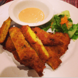 fried cod fish fritters at Coley's!