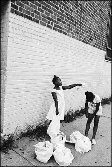 Untitled, Andre D. Wagner 16x20 Silver Gelatin, Harlem, New York (2014) from American Survey Pt: II 'Tell It Like It Is' solo exhibition with Brooklyn based photographer Andre D. Wagner