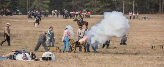 Brooksville Raid – 2017 – Brooksville, Florida – Civil War Re-enactment