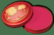 besame blush - vintage style
