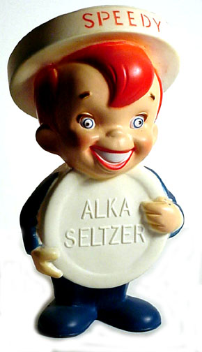 Alka-Seltzer Advertising Speedy
