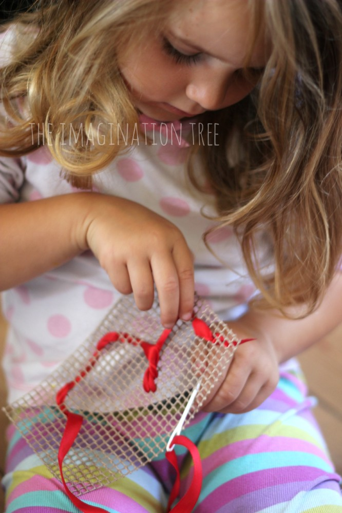Sewing with ribbons