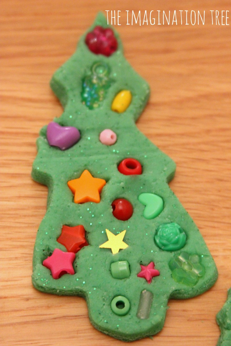 play dough craft ideas play dough tree decorations 5220