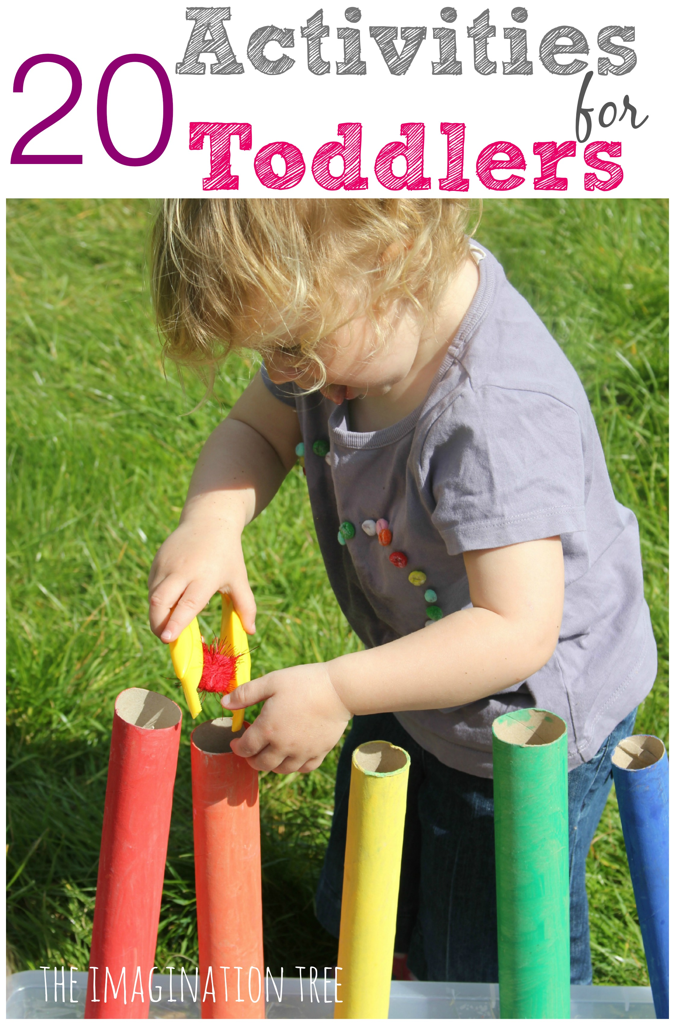 20 Activities For Toddlers