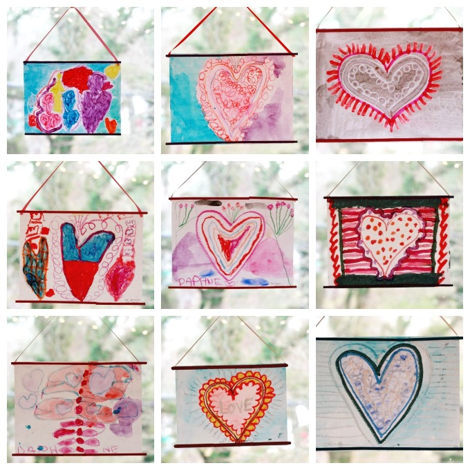 Crayon Melt Valentines Day Art For Kids The Imagination