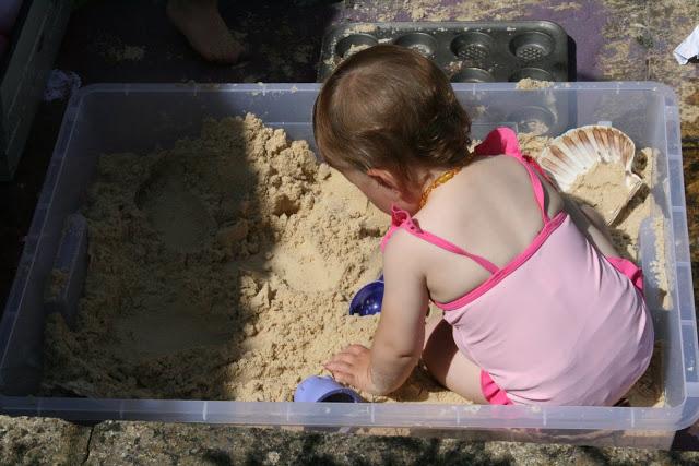 DIY Sand Box The Imagination Tree