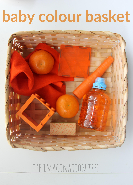 Colour Theme Baby Treasure Basket The Imagination Tree