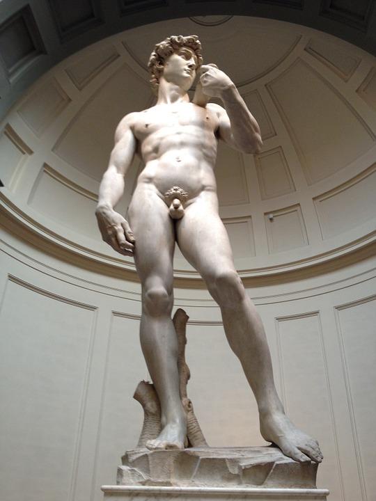 """What Is the Meaning of Michelangelo's """"David""""? ~ The Imaginative  Conservative"""