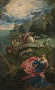 Saint George and the Dragon, 1558