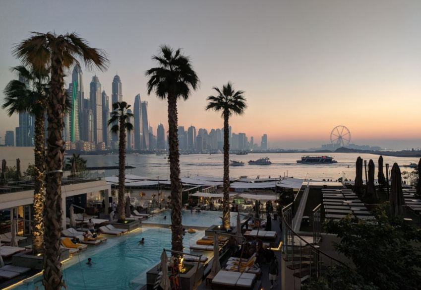 Five Palm Jumeirah Sunset