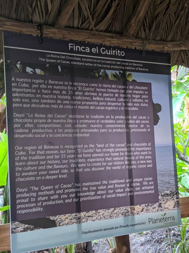 Baracoa Cocoa