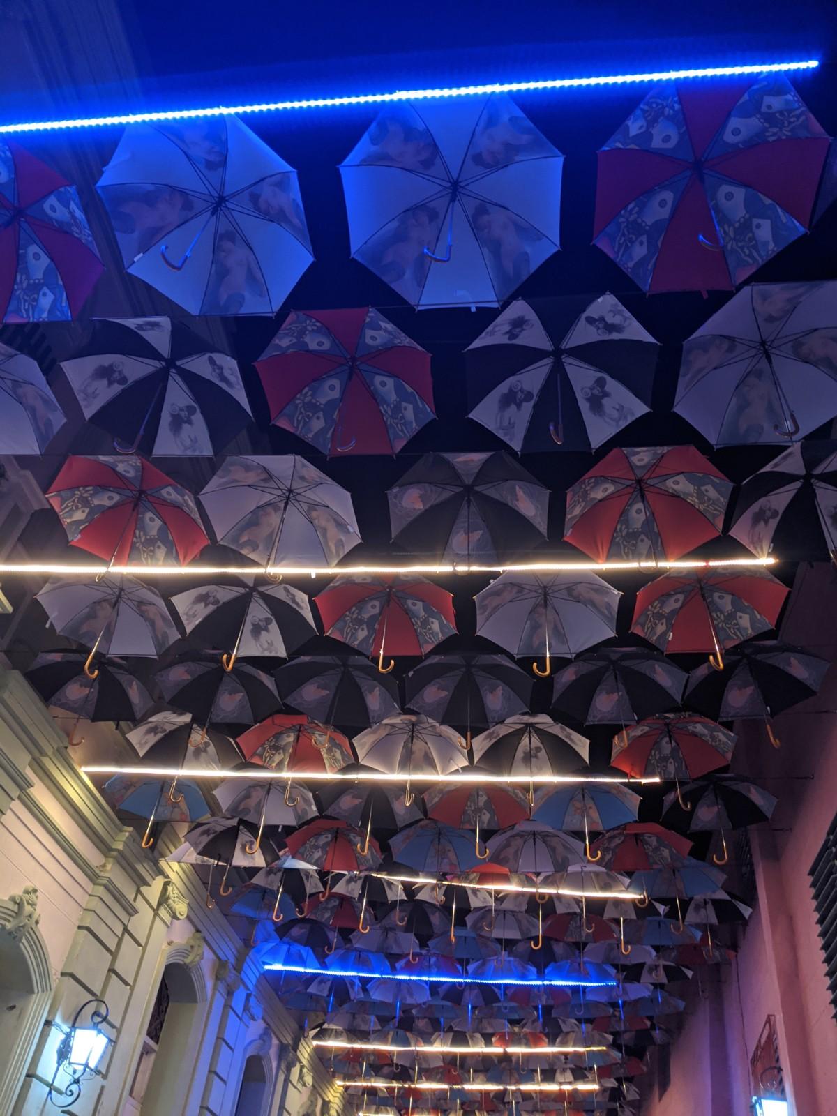 Santiago de Cuba Umbrellas