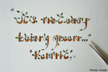 31) Being a Greenie