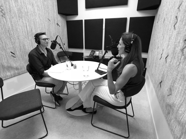 Courtney Rennicke and Mark Fallows interview for podcast The Impossible Network