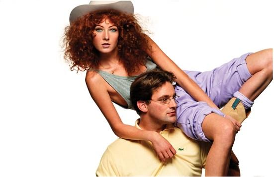 Maggie Rizer & Jodokus Driessen - Vogue Paris, 2001