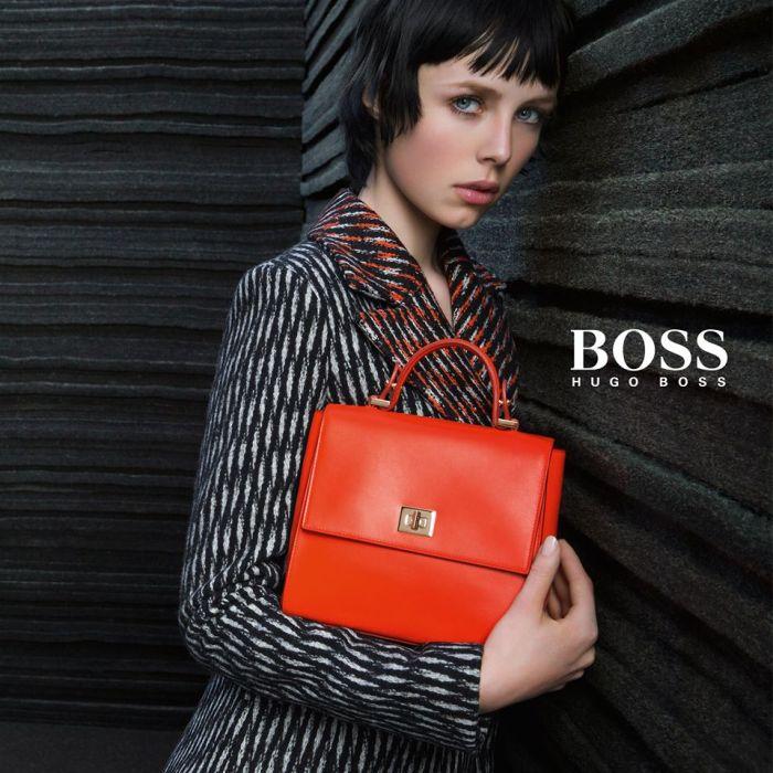 hugo boss 2015 Edie Campbell ad photo