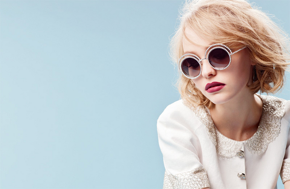 chanel-fall-2015-eyewear-lily-rose-depp
