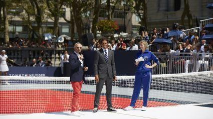Tommy Hilfiger Rafael Nadal and Jane Lynch