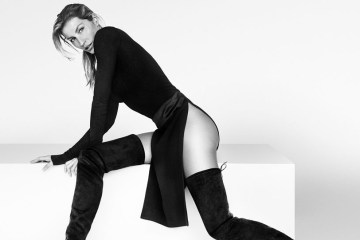 stuart weitzman fall 2015 ad campaign photo