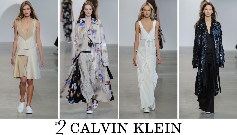 Calvin Klein Spring 2016 top 10