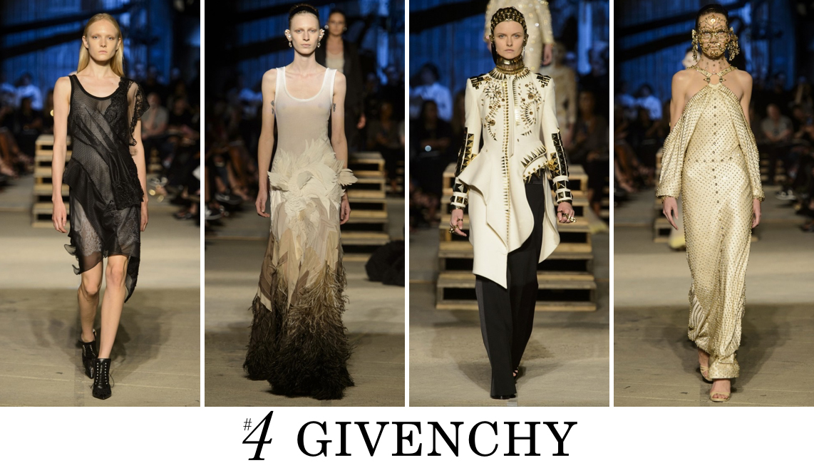 Givenchy Top 10 Spring 2016