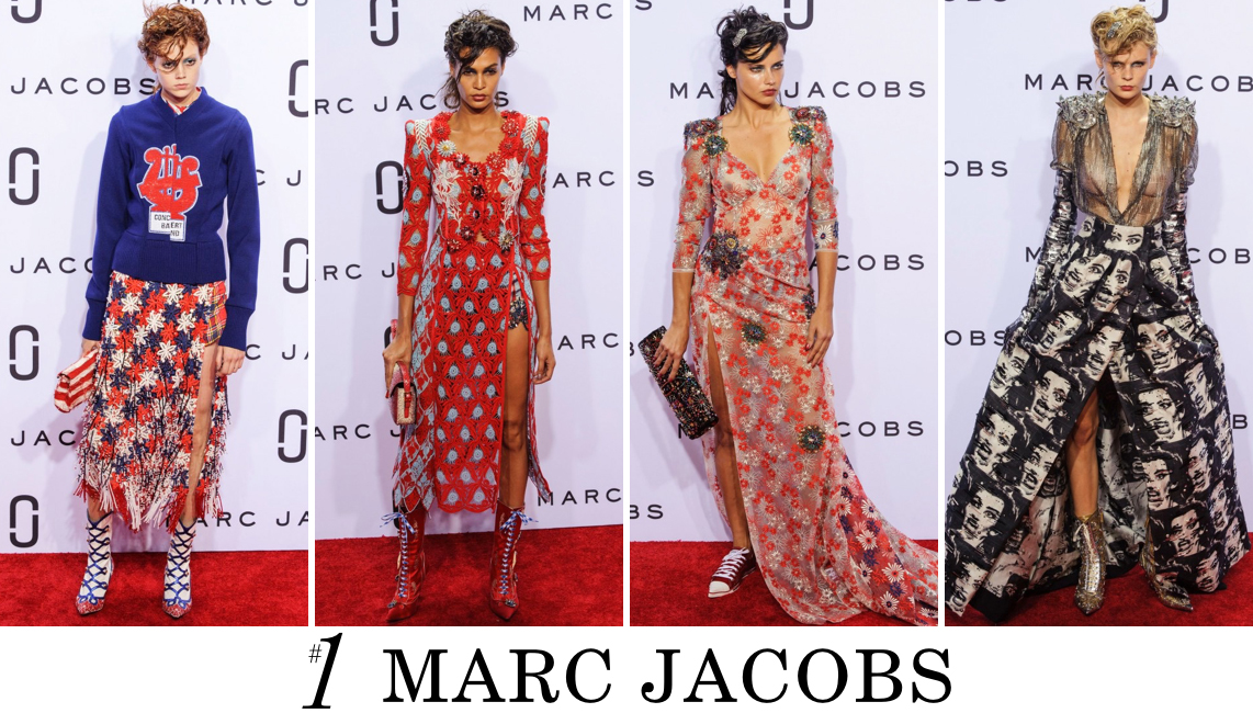 Marc Jacobs Spring 2016 top 10