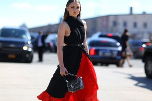 NEW-YORK-FASHION-WEEK-STREETS-STYLE-DAY5-spring-2016-fashion-show-the-impression-62