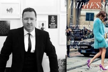 The Impression launches magazine photo