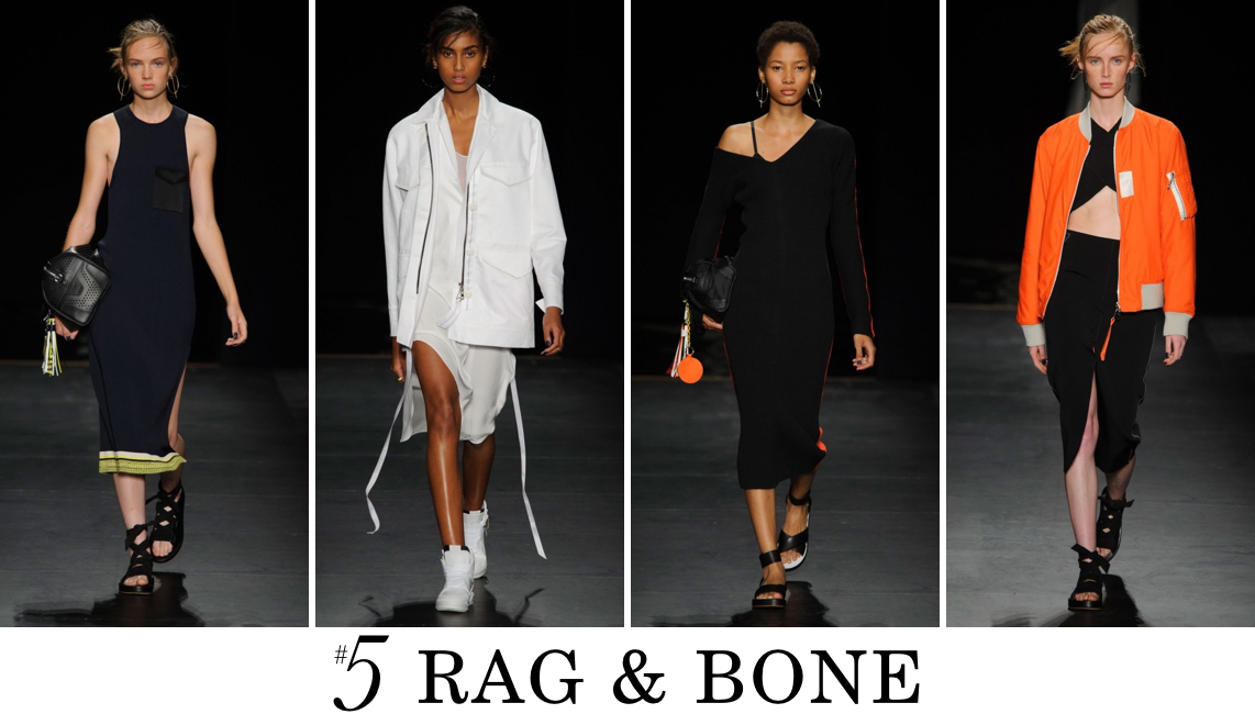 rag and bone Top 10 Spring 2016