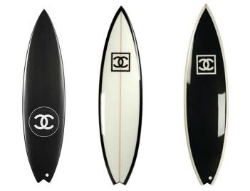 Chanel Surfboard Photo