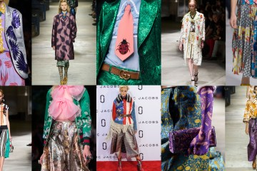 fashion show trend spring 2016 gucci prada marc jacobs maximalist photo