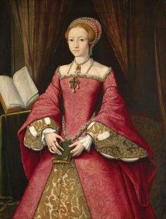 Elizabeth Tudor as a Princess   1564