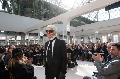 Karl Lagerfeld at Chanel