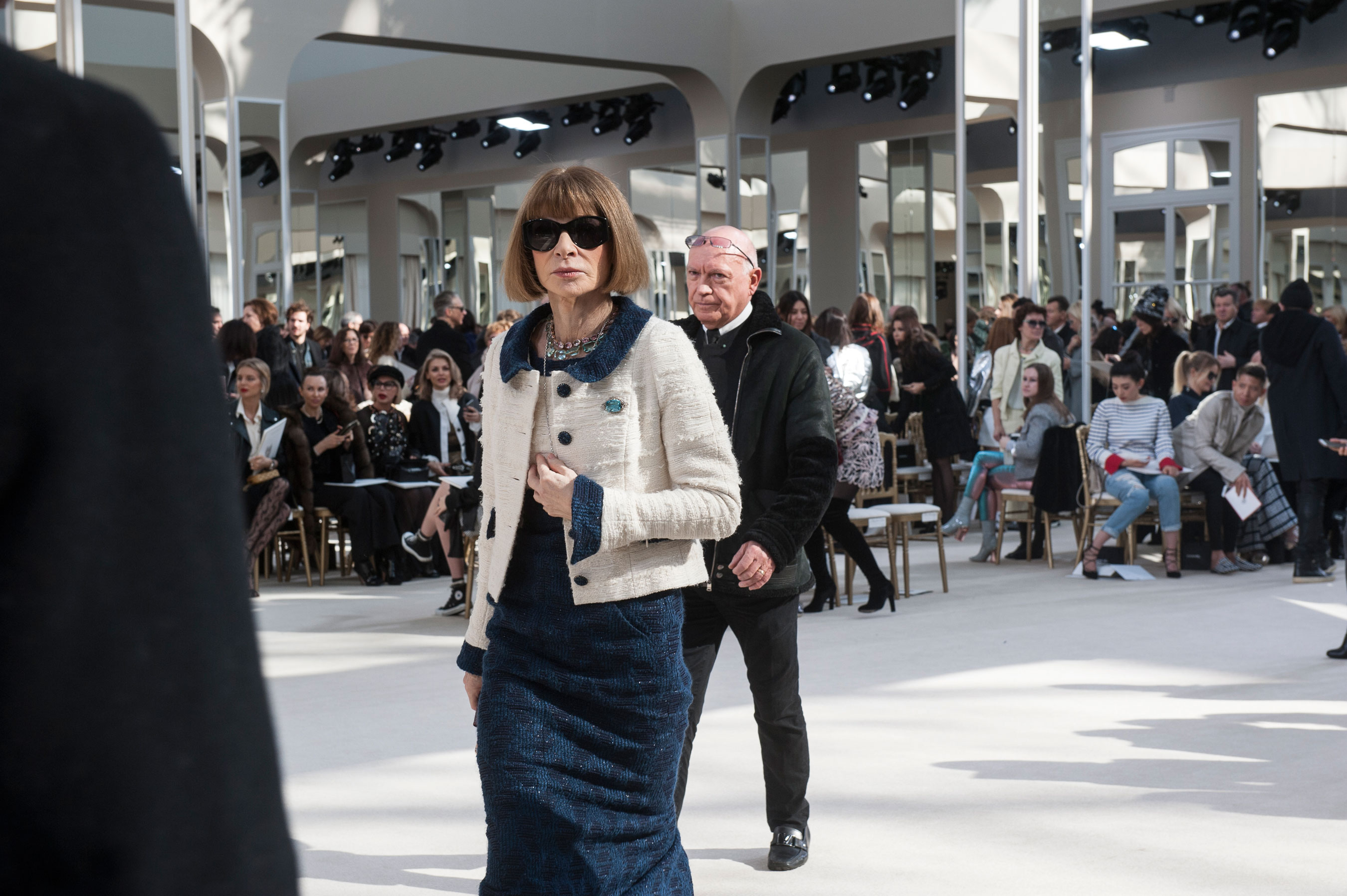 Anna Wintour at Chanel