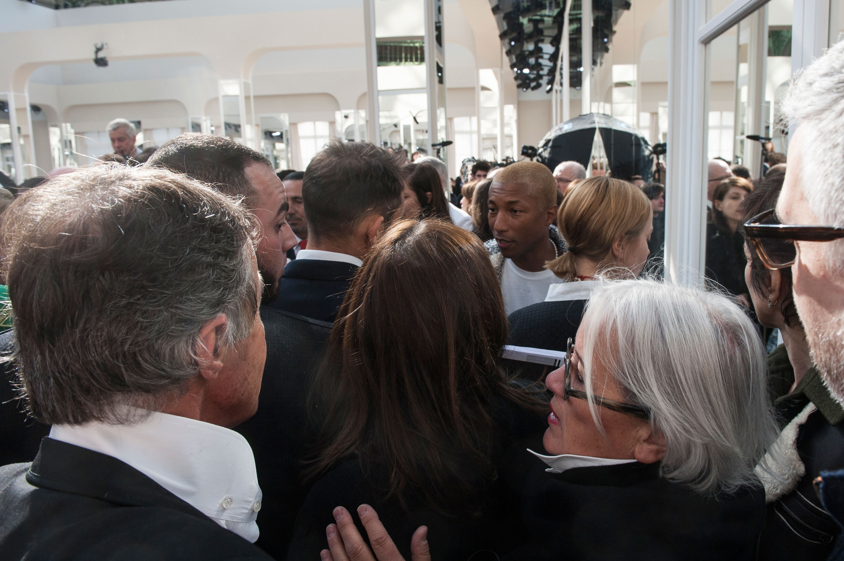 Pharrell Williams at Chanel
