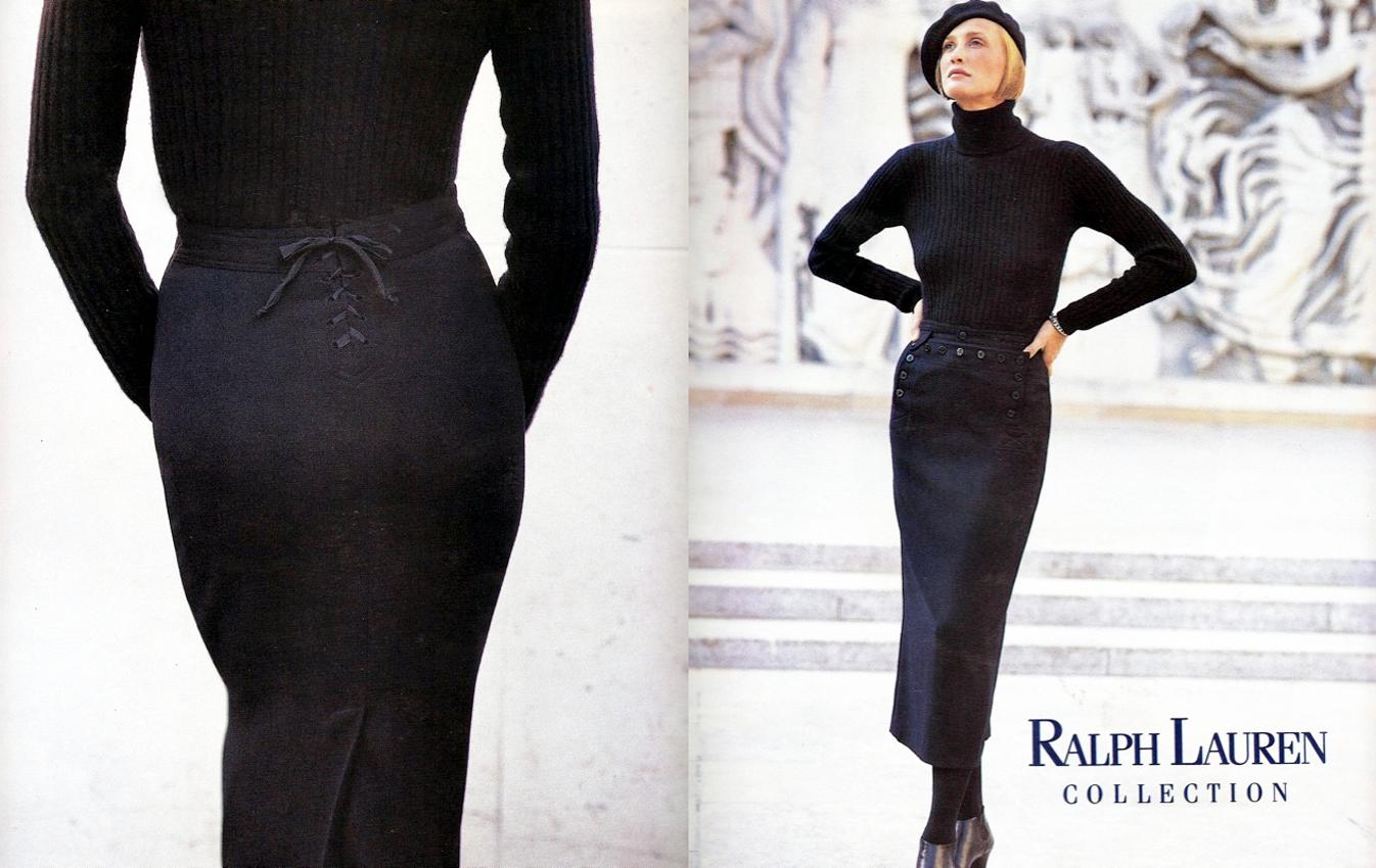 Ralph Lauren Collection FW 1990