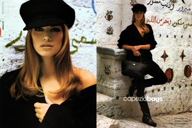capezio-bags-ad-campaign-cindy-crawford-hat-1