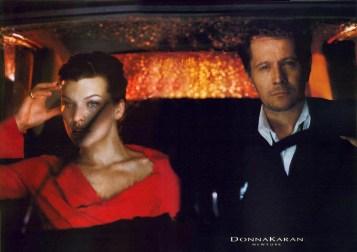 Donna Karan FW 2000 Mikael Jansson Gary Oldman Milla Jovovich