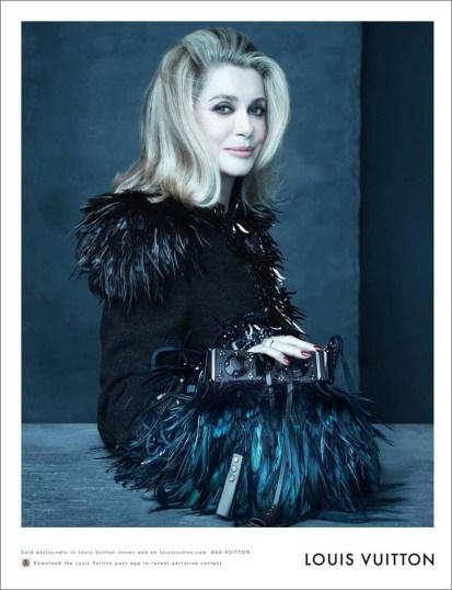 Louis-Vuitton-spring-summer2014-Catherine Deneuve-theimpression